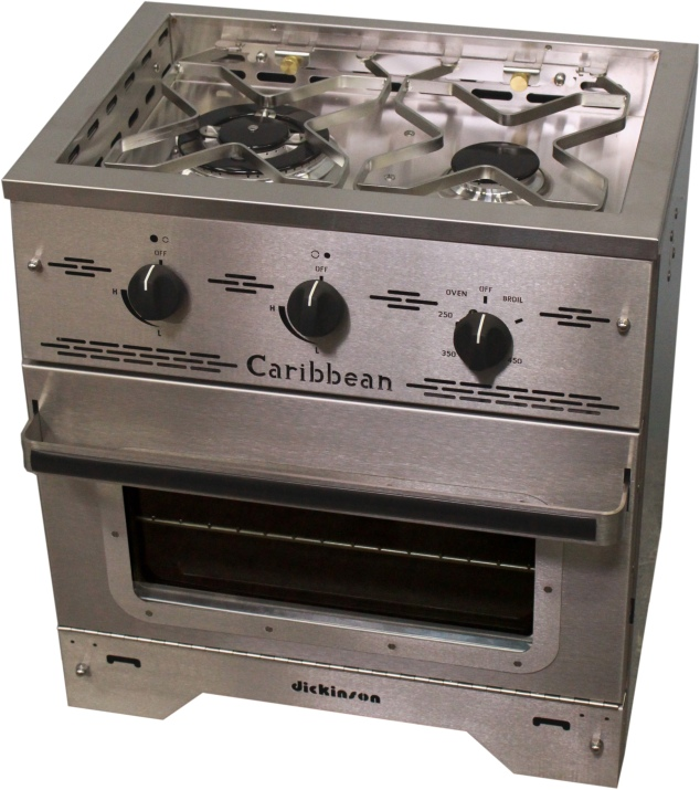 Caribbean-2-burner-propane-stove